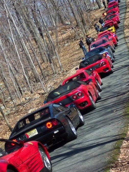 Ferrari Club 'Spring Fever Rally'