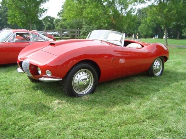 Arnolt Bristol @ Buckingham Auto Show