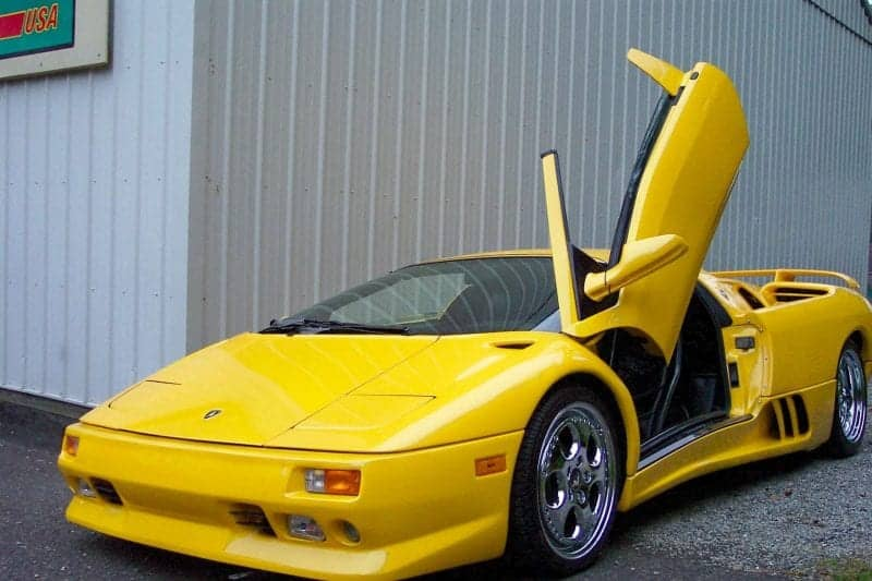 Happy ending for burned Lamborghini Diablo