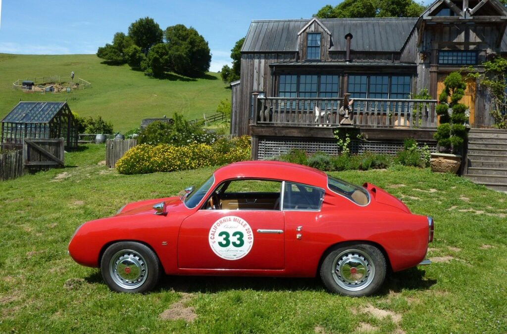 Fiat Abarth Zagato 'double bubble' for sale – SOLD –