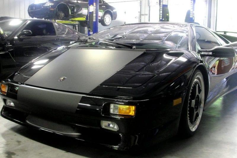 Lamborghini Diablo Matte Black