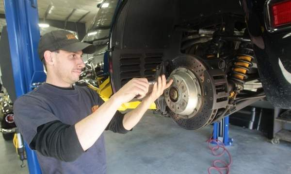 Spring Contest Win a Brake Clutch System Fluid Flush Service!