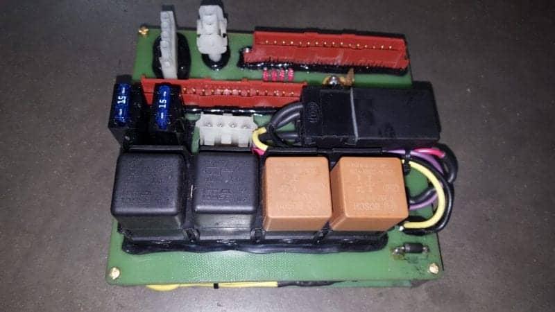 Countach relay box classic Lamborghini