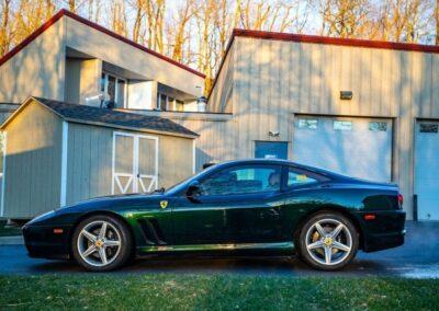 6 speed gated manual Ferrari 575M