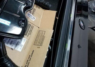 Alfa Romeo Montreal trunk trim panel