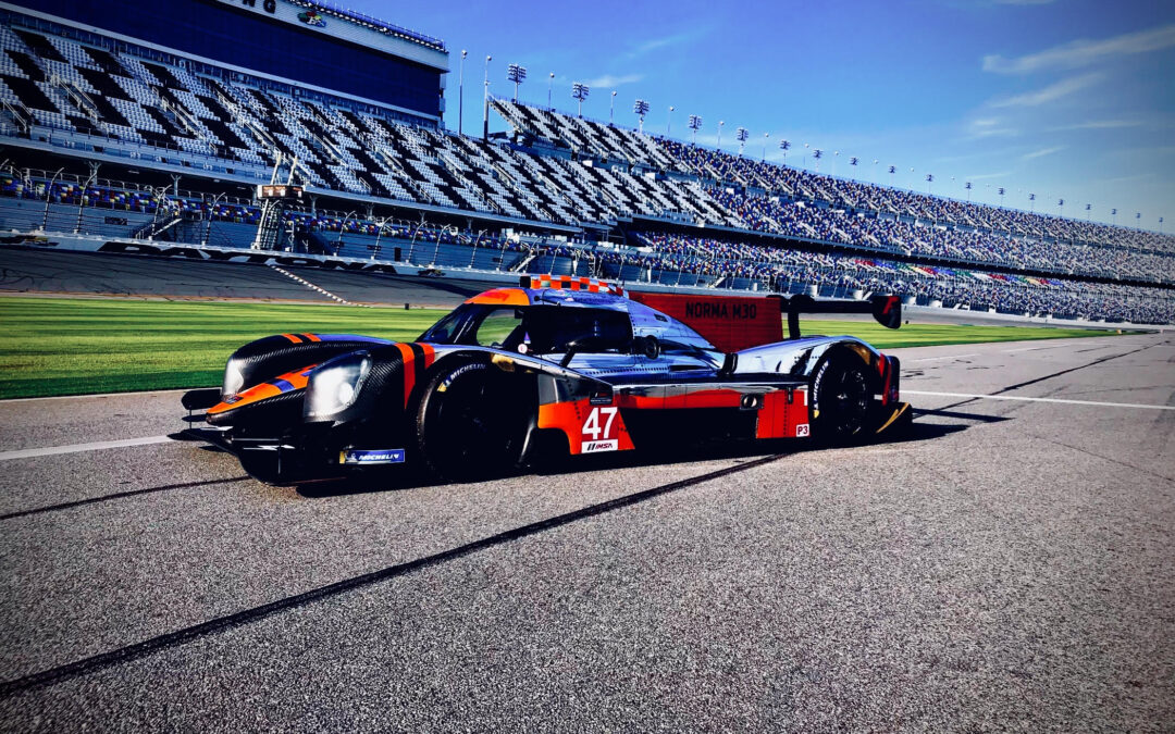 racing support for LMP3 Norma concept car