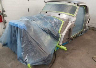 1953 Mercedes 300S restoration