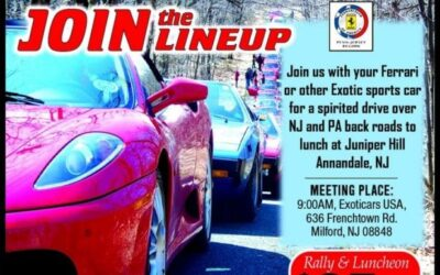 Spring fever rally and lunch