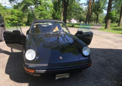 1987 Porsche 911 cabriolet